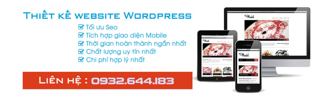 thiet ke website wordpress dep