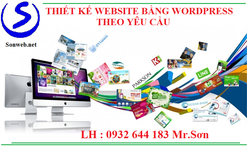 Thiết kế website wordpress theo yêu cầu tại tphcm