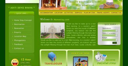 Thiết kế website homestay chuyên nghiệp chuẩn seo