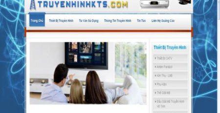 Thiết kế website truyên hình bằng wordpress