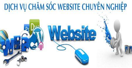 dich vu cham soc website chuyen nghiep gia re