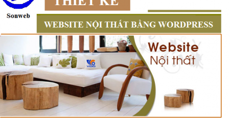 Thiết kế webiste nội thất bằng wordpress tại tphcm giá rẻ