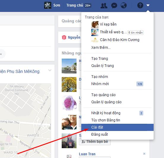 Hướng dẫn cài đặt bảo mật facebook