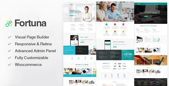 Fortuna Responsive Multi-Purpose WordPress Theme