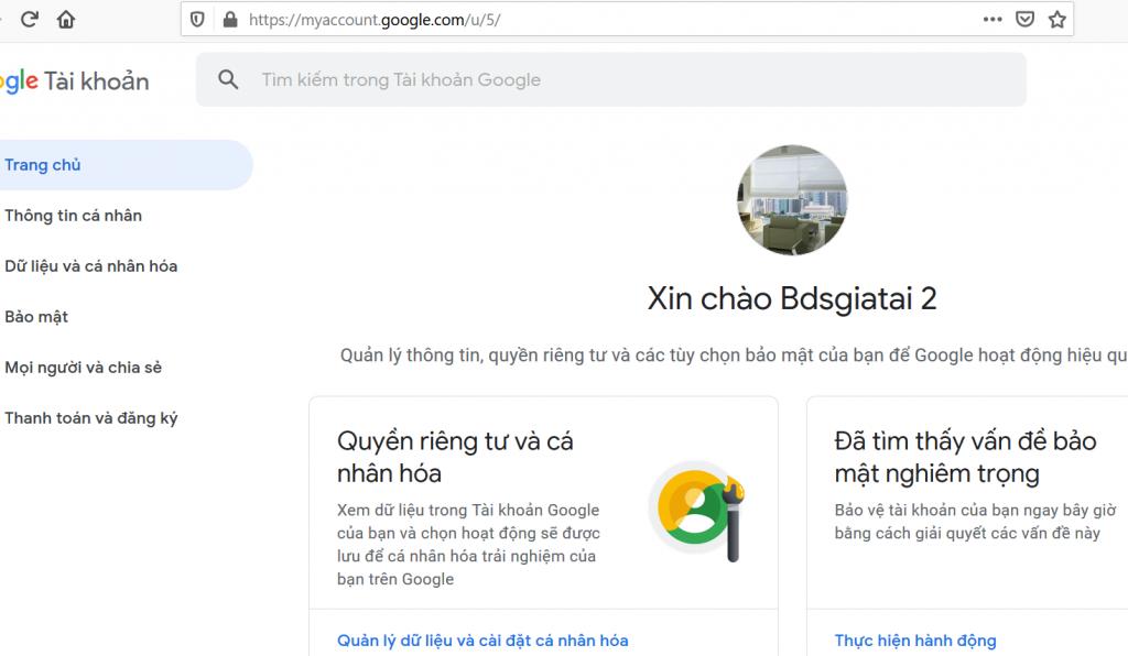Hướng dẫn tạo mật khẩu ứng dụng Gmail