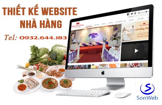 thiet ke website nha hang tại thanh hoa chuan seo