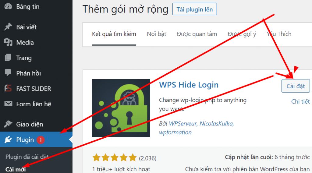 Plugin WPS Hide Login