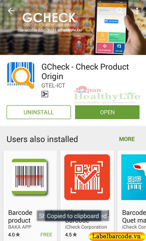 phần mềm G-Check