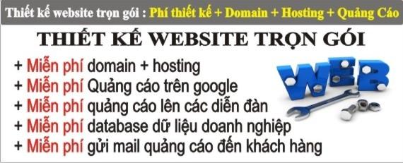 thiet ke web tron goi tai tphcm