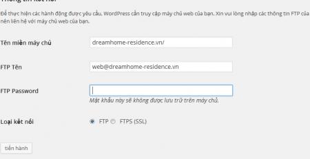 loi fpt web wordpress