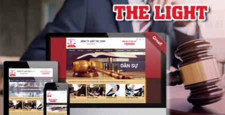 Theit61 kế website công ty luật