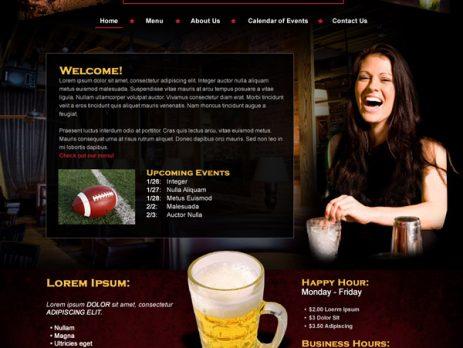 Thiết kế webstie quán bar clucb giá rẻ