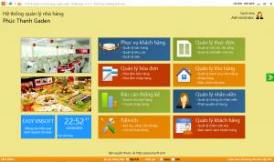 Phần mềm quản lí nhà hàng, khách sạn, quán ăn