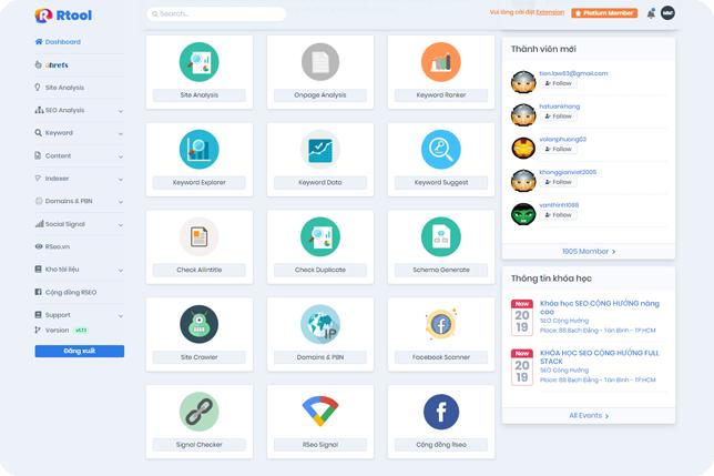 Công cụ hỗ trợ SEO & Digital Marketing toàn diện