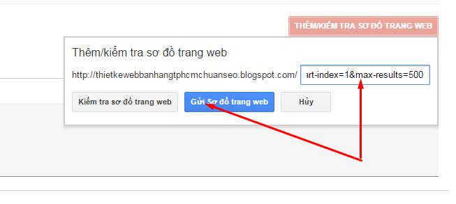 huong dan tao sitemap blogspot