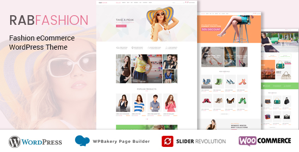 theme rabfashion wordpress