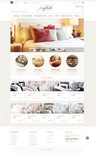 Thiết kế web chăn ga gối