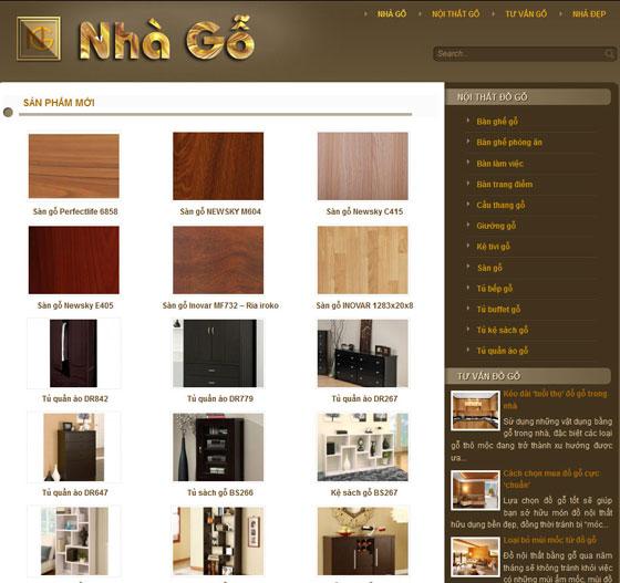 Kết quả hình ảnh cho thiêt kế website đồ gỗ nội thất
