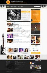 Thiết kế web nghệ thuật - mỹ thuật