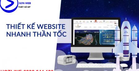 Nhận thiết kế website nhanh chuẩn seo giá rẻ