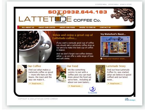 thiet ke website quan cafe tphcm