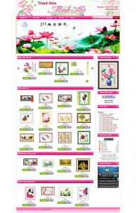 Thiết kế web tranh thuê chữ thập