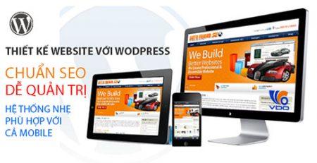 thiết kế web wordpress tại tphcm