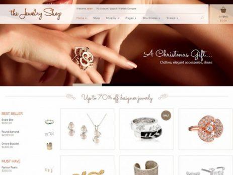 Thiết kê website trang sức online