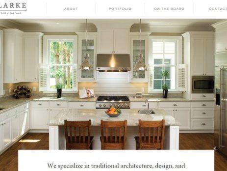thiêt kế website kiến trúc nội thất