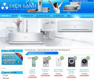 Thiết kế website thiết bị điện
