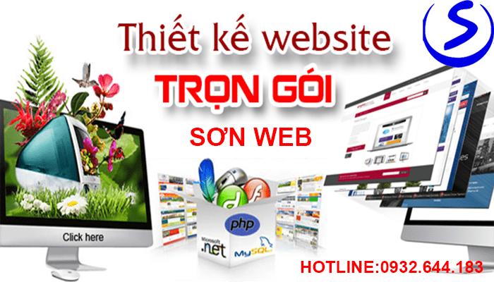 Thiết kế website trọn gói giá rẻ tại tphcm