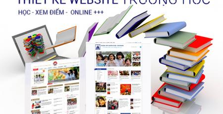 Thiết kế website giới thiệu trường học