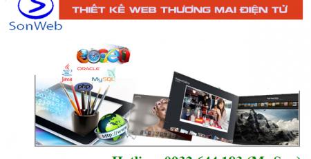 thiet ke website thuong mai dien tu