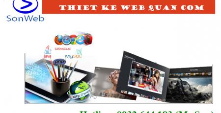 thiet ke website quan com